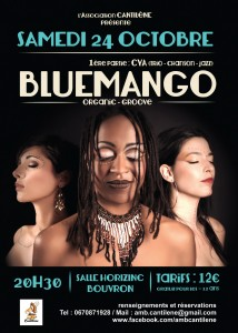 Concert BLUEMANGO à Horizinc Bouvron 24 oct. 2015